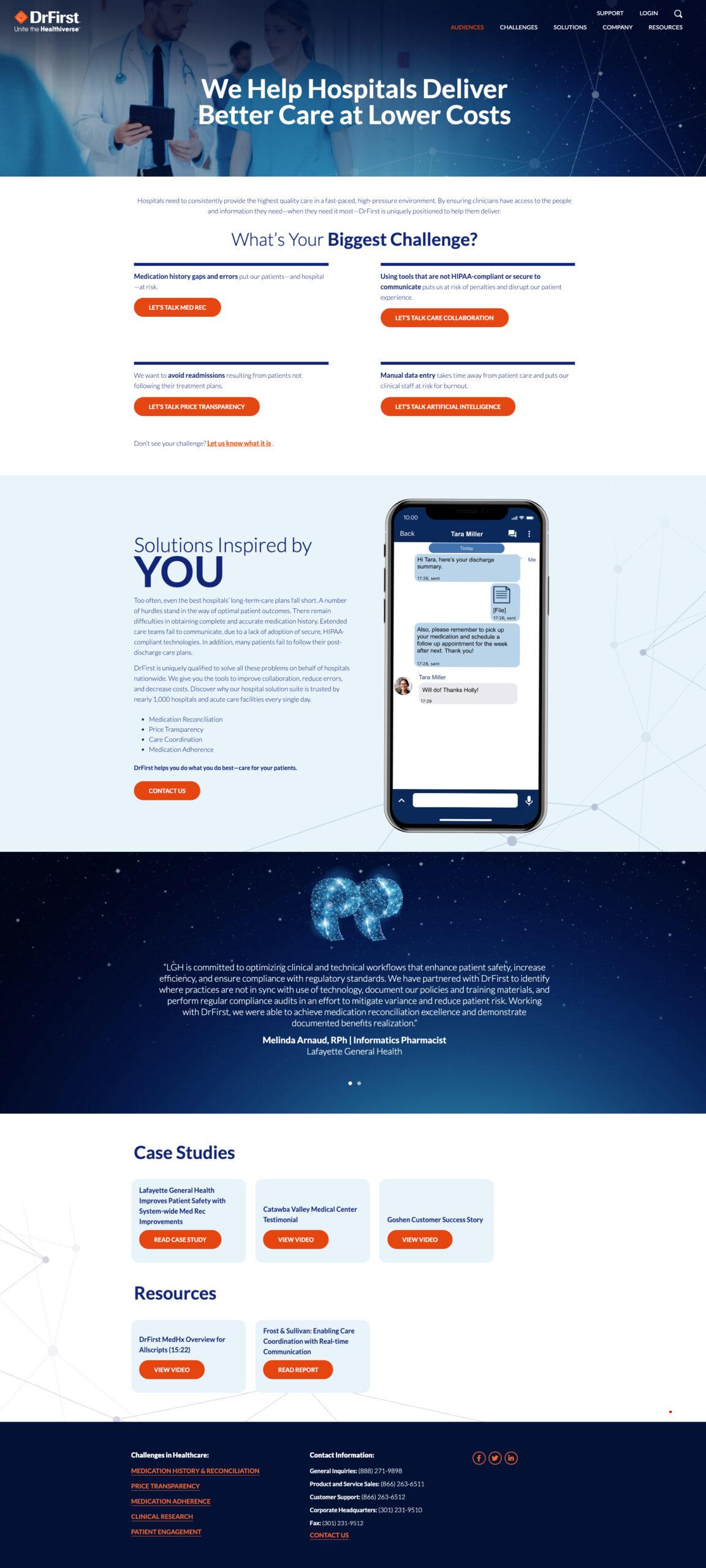 DrFirst Website Design