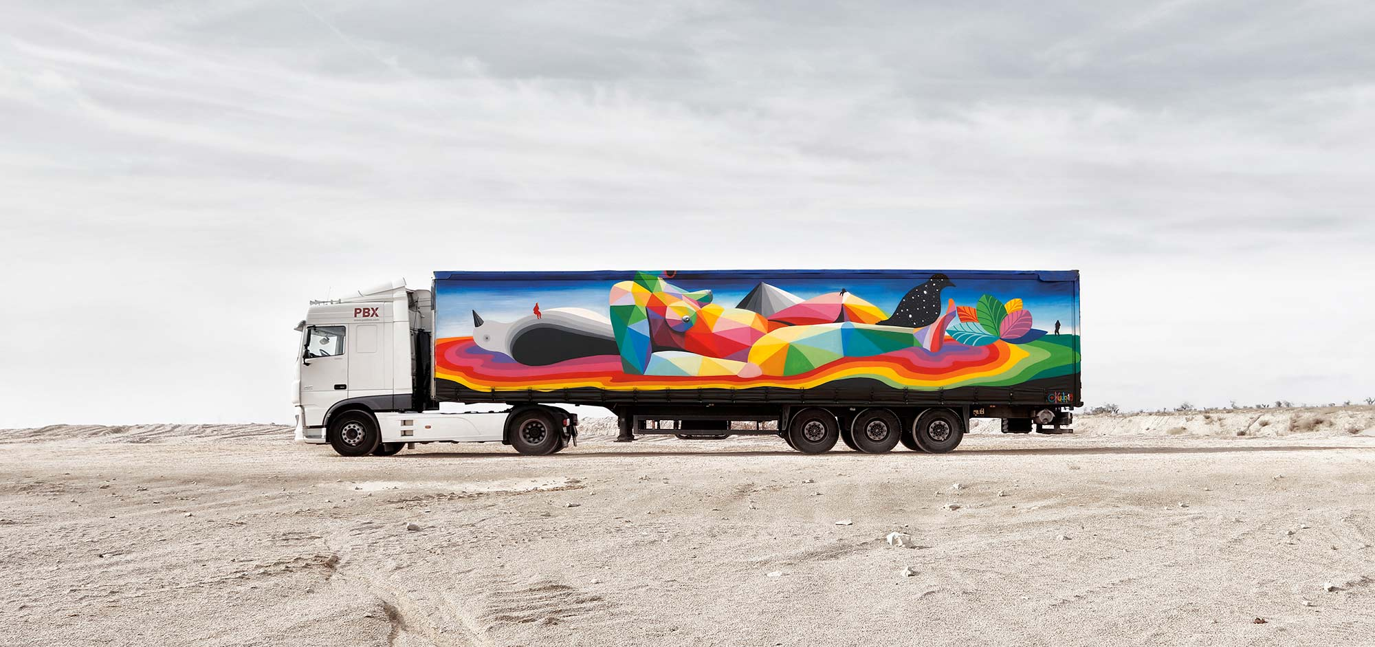 Truck Art Project: Art that Moves You