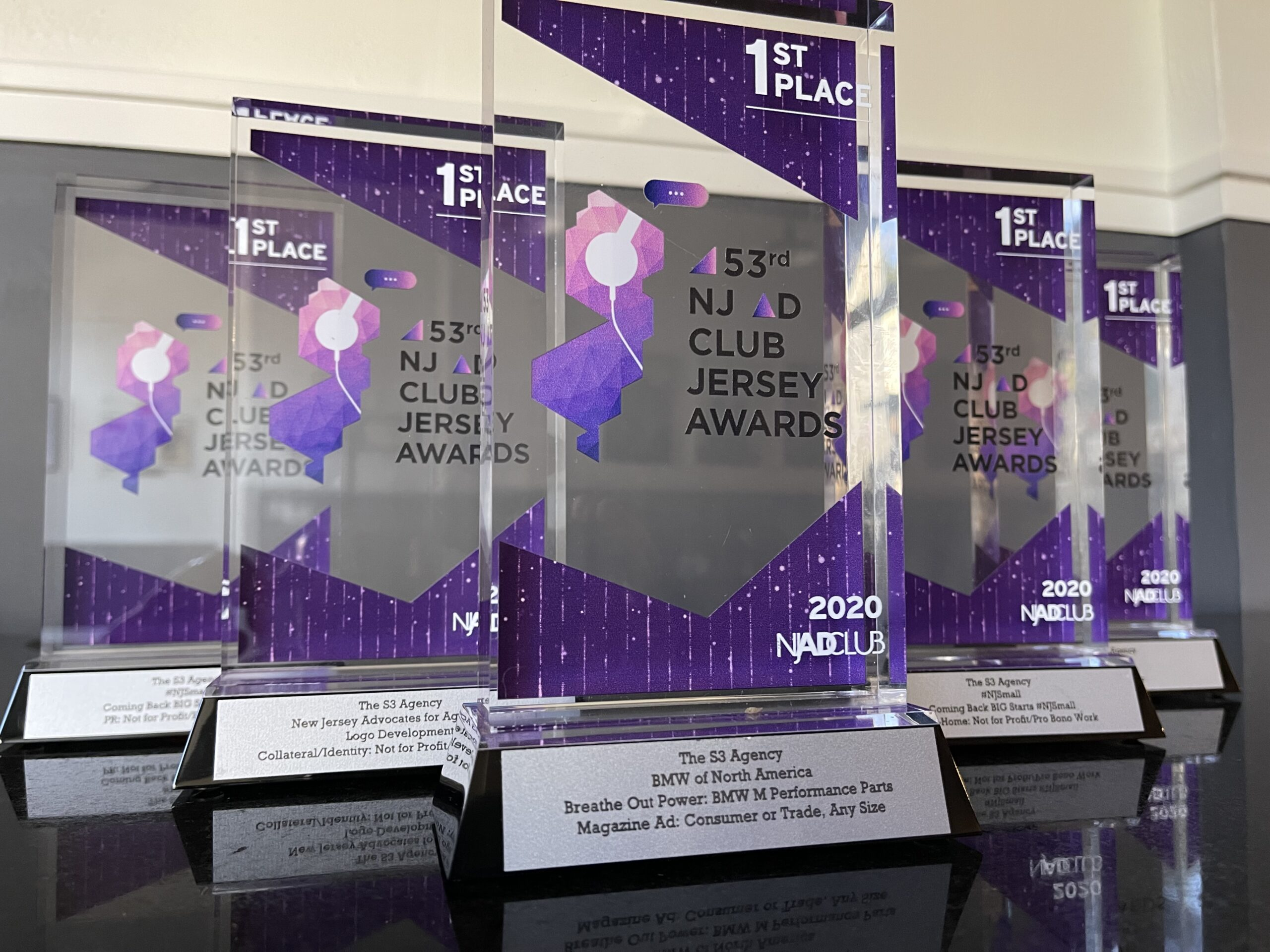 The S3 Agency Wins 5 First Place Advertising Awards!